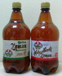 Бутылочное пиво Zeman в широкой продаже
