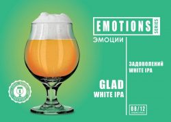 Glad White IPA - восьмой сорт новой серии EMOTIONS из Днепра