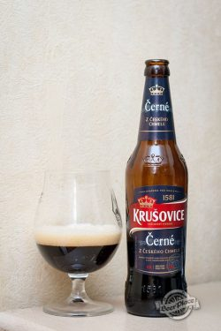 Дегустация пива Krusovice Cerne