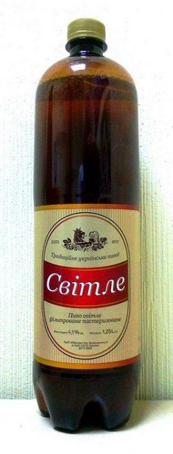 Promo Marka Світле - пиво от Оболони для супермаркетов NOVUS