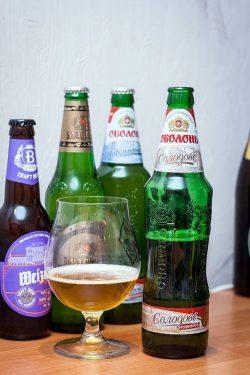 Дегустация пива Оболонь Солодове