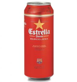 Акция на Estrella Damm в Сильпо