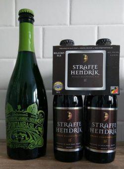 Straffe Hendrik Quadrupel и Lindemans SpontanBasil от BeerShop.com.ua