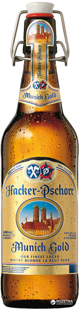 Hacker-Pschorr Munich Gold - немецкая новинка в Украине