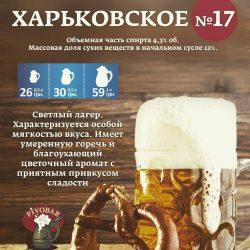 Харьковское №17 от харьковской мини-пивоварни Pivobar