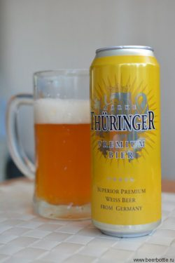 Thüringer Premium Weissbier — еще одна немецкая новинка от АТБ