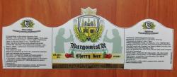 Cherry Beer - новый сорт от пивоварни Burgomistr со Львова