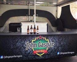 Пиво John Gaspar из Берегово в стекле