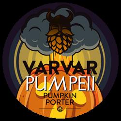 Pumpeii - тыквенный портер от Varvar