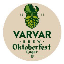Varvar Oktoberfest Lager - пиво к Октоберфесту от Varvar