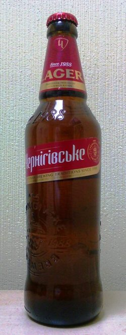 Чернігівське Lager — новинка от Sun InBev Ukraine