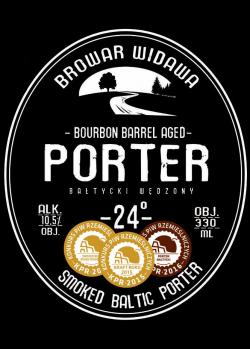 Porter Bałtycki Wędzony 24° Bourbon Barrel Aged - польская новинка в CRAFT vs PUB