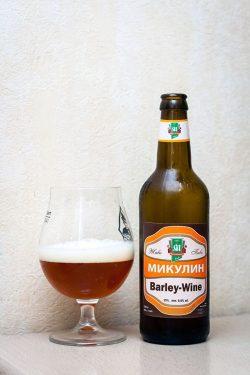 Дегустация пива Микулин Barley-Wine