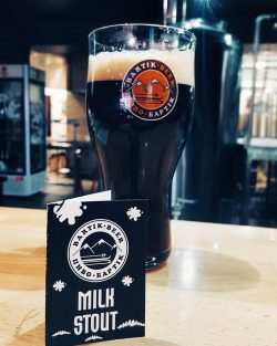 Молочний Стаут — новинка от пивоварни Бартік из Ивано-Франковска