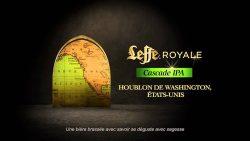 Leffe Royale Cascade IPA с американским хмелем в Украине