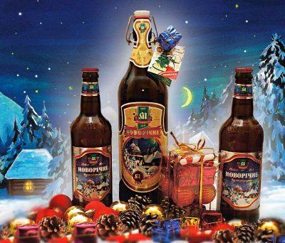 Новорічне от Микулинецкого пивзавода уже в продаже