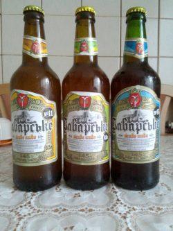 Новые сорта Новой Баварии в бутылках