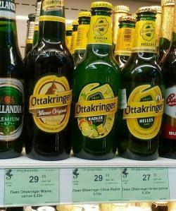 Новые сорта пива Ottakringer в Украине
