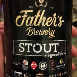 Stout - большая коллаборация на ровенской пивоварне Father's