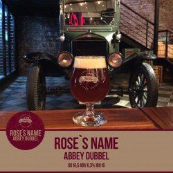 Обновленный Rose's Name от Syndicate beer & grill