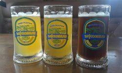 Текущий ассортимент мини-пивоварни Верховина