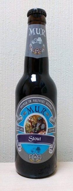White Wheat Beer и Stout - новые сорта линейки MUR от Волинський бровар