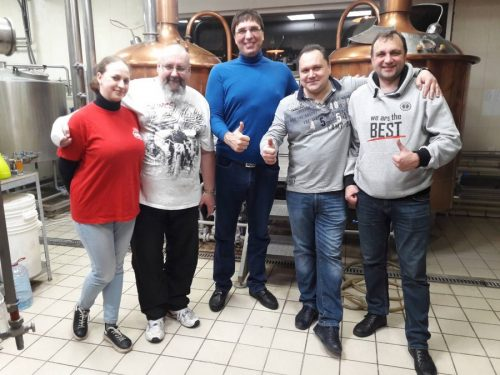Cовместная варка харьковского AltBier и First Dnipro Brewery