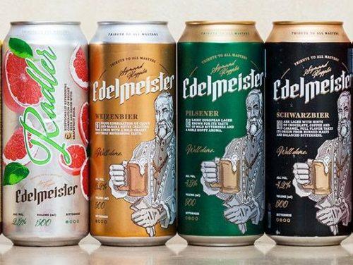 Новые сорта пива Edelmeister в Украине