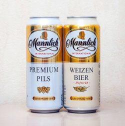 Mannlich - новое немецкое пиво в Украине