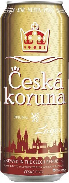 Česká Koruna - новое чешское пиво в Украине