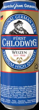 Fürst Chlodwig Weizen - еще одна бюджетная немецкая новинка в Украине