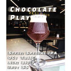 Chocolate Play — новый сорт от киевской мини-пивоварни PĚST
