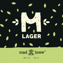 M-Lager - новый сорт от Mad Brew