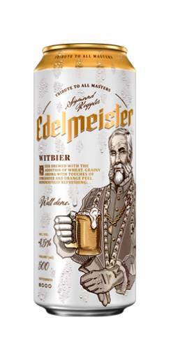 Edelmeister Radler и Edelmeister Witbier - новые сорта баночного польского пива