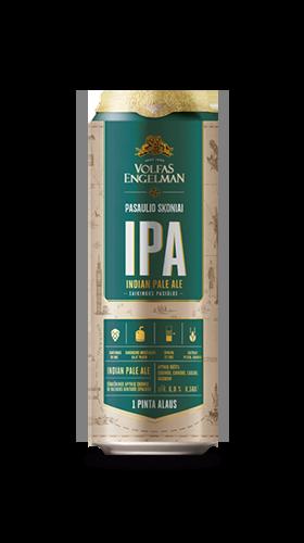 Новые сорта баночного пива Volfas Engelman в Украине