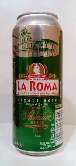 La Roma - новый экспортный сорт от Оболони