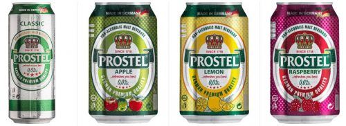 Prostel - новая торговая марка немецкого пива в Украине