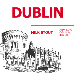 Dublin Milk Stout — новинка от Red Cat Craft Brewery