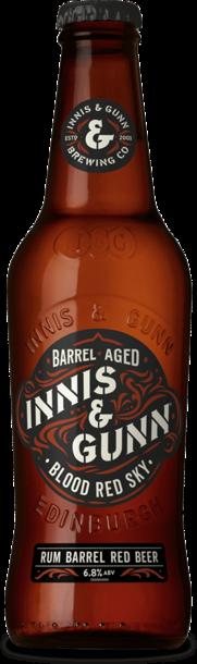 Blood Red Sky Barrel Aged - новый сорт шотландского пива Innis & Gunn в Украине