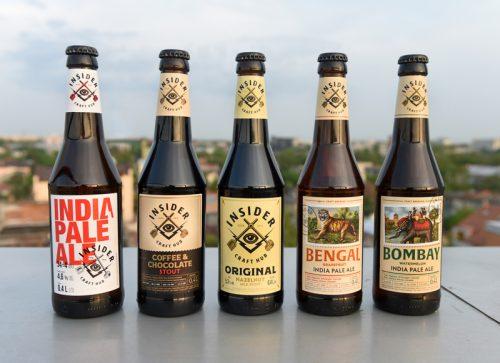 Пиво от Insider Craft Hub уже в широкой продаже