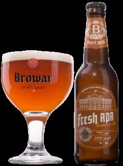 Fresh APA от пивоварни Волинський бровар уже в бутылке