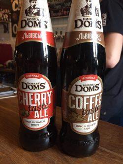 Robert Doms зі смаком вишні и Robert Doms зі смаком кави — новинки от Carlsberg Ukraine