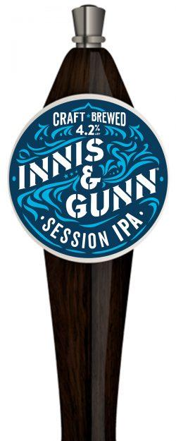 Innis & Gunn Session IPA - разливная новинка в ресторане У Хромого Пола