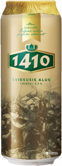 Пиво Meister и 1410 - литовские новинки в Украине