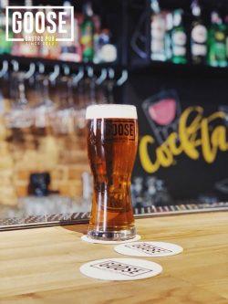 Новое пиво и выходные в Goose Gastro Pub