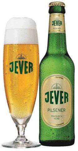 Немецкое пиво Jever в Украине
