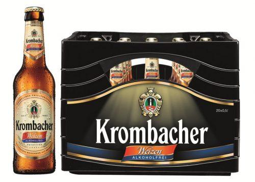 Krombacher Weizen Alkoholfrei - немецкая новинка в Украине