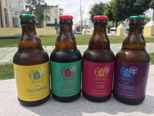 Новые сорта и пиво в стекле от пивоварни Nikolaus