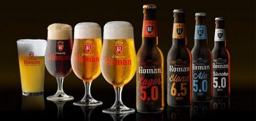 Скидка на пиво от Brouwerij Roman в Мегамаркете