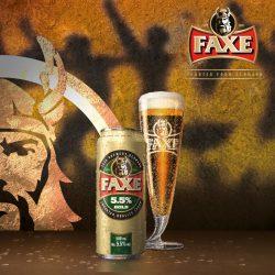 FAXE Gold - новый сорт датского пива в Сильпо